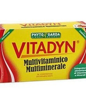 VITADYN MULTIVITAMINICO MULTIMINERALE 30 COMPRESSE EF